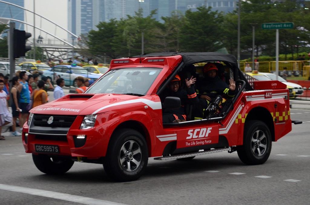Red Light Camera Map >> Singapore Civil Defence Force Isuzu D-Max Light Fire Attac… | Flickr