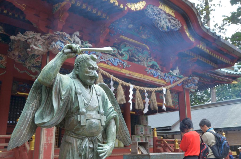Tengu criatura mitologia japonesa