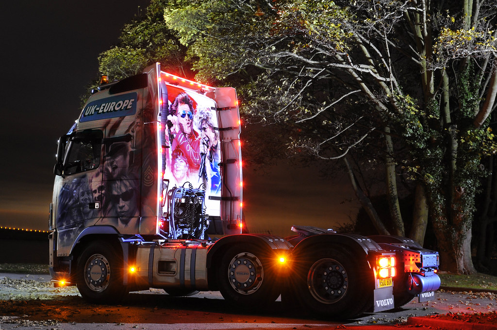 Bon Jovi Custom Paint Truck 2 | Dave Needham from Quickmissi… | Flickr