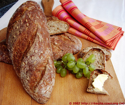 ALSACE LOAF WITH RYE