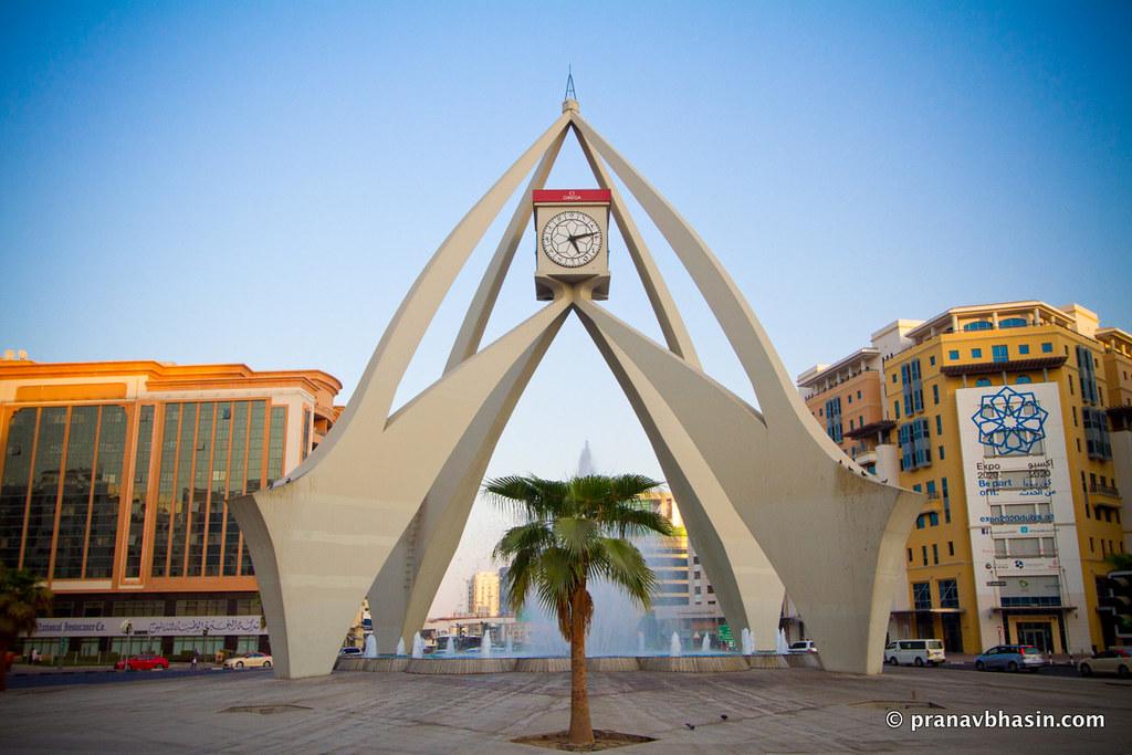 clock tower  dubai