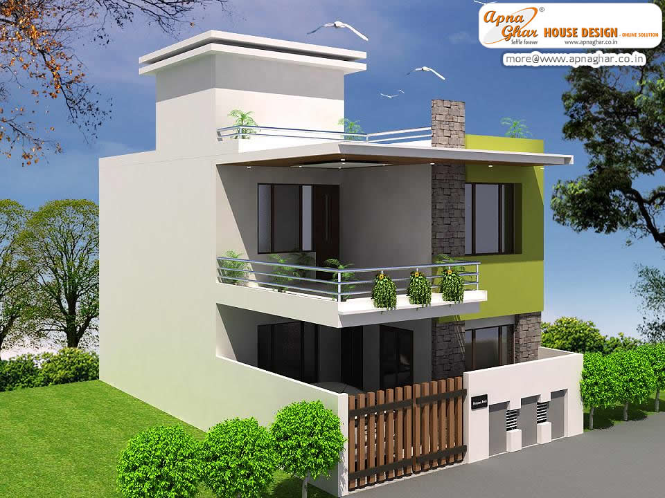 Simple Modern Duplex House Design Simple Modern Duplex