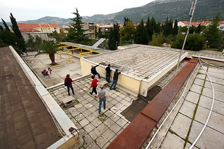 The school's flat roof... | by UNDP in Europe and Central Asia