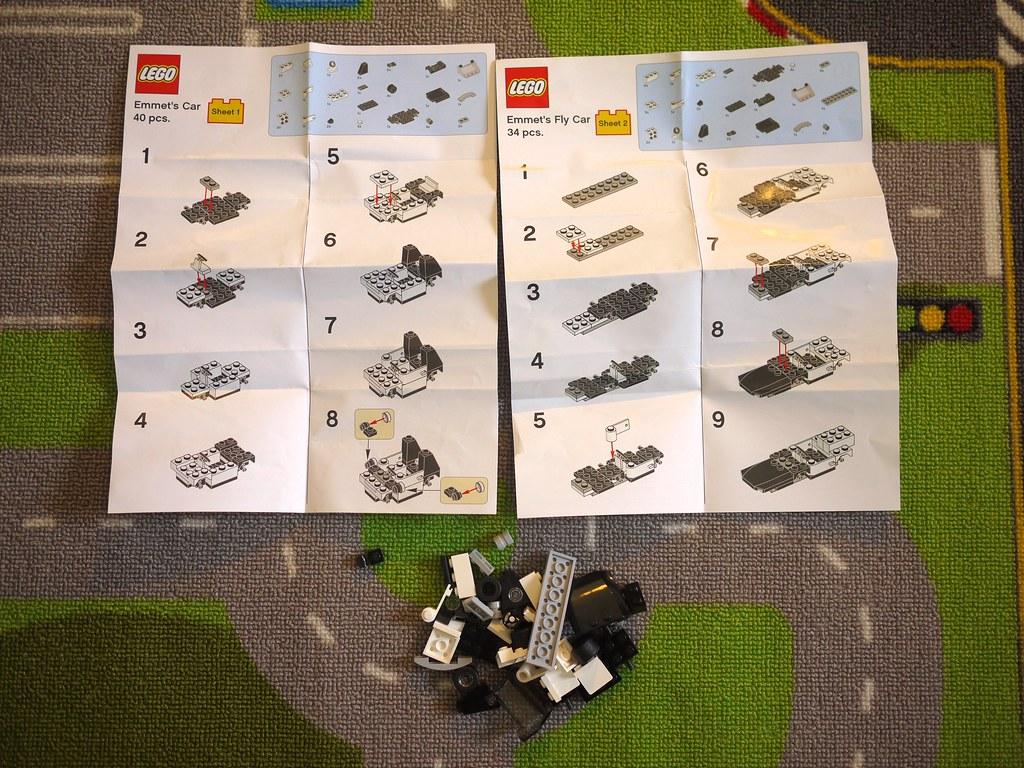 Lego Emmet S Car Instructions
