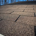 Shingles on Solar Shed Roof