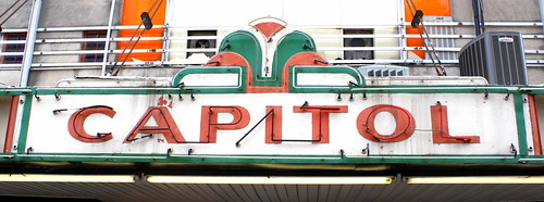 Capitol Cinemas neon sign - Princeton, KY