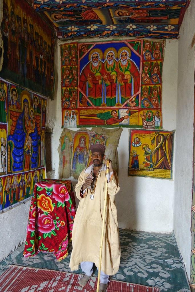 Igreja de Aba Pantaleão, Axum, Etiópia