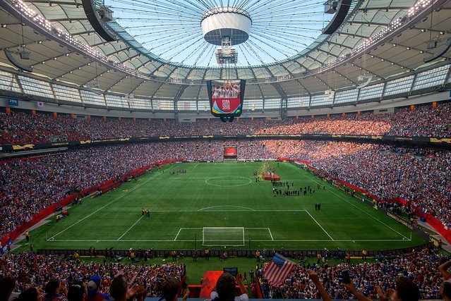 FIFA Women's World Cup Final, Vancouver, BC