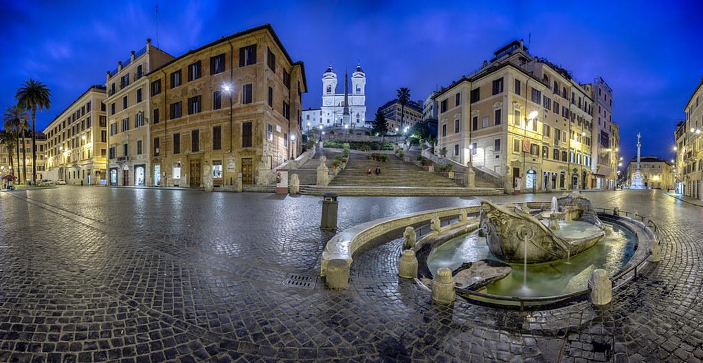 Piazza di Spagna all'alba   Roma   Luca Pietrobono   Flickr