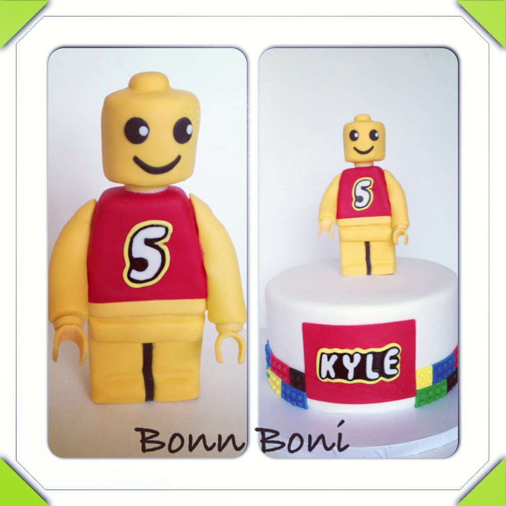 Lego Man Birthday Cake Mould