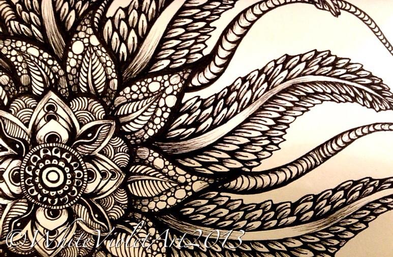 Zentangle Flower Tattoo Newfoundland Mandala #...
