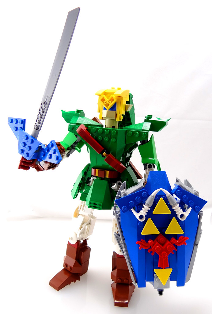 mecha link 10 the first phase of my next custom lego