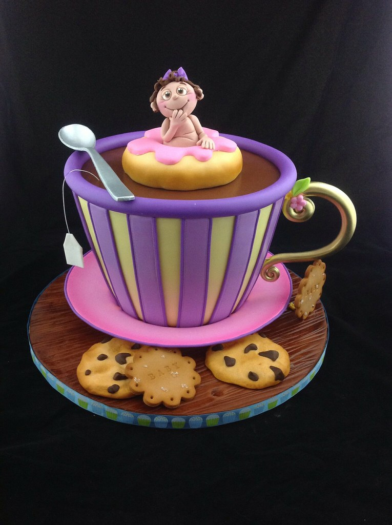 How To Make A Tea Cup Birthday Cake