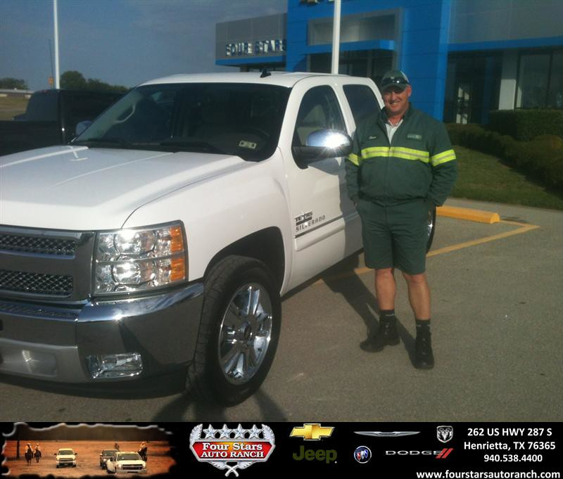 Thank You To Steven Cox On Your New 2013 Chevrolet Silve