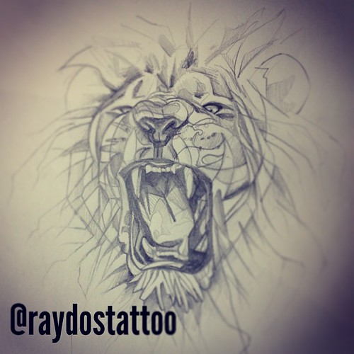 Lions Roaring Drawing Lion Lionorder Roar