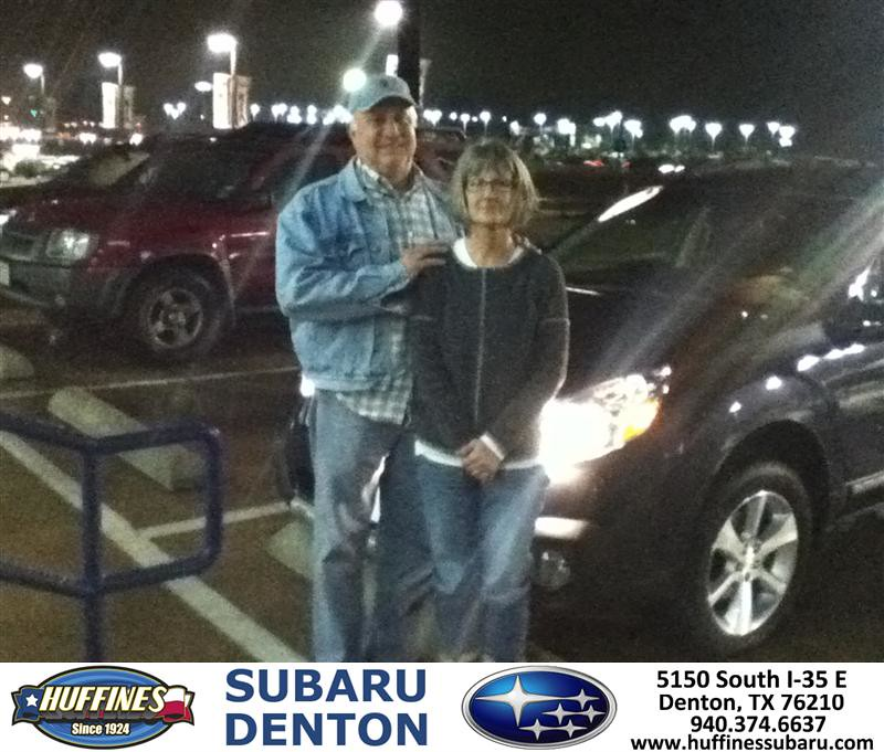 Thank You To Donna Neal On Your New 2013 Subaru Outback