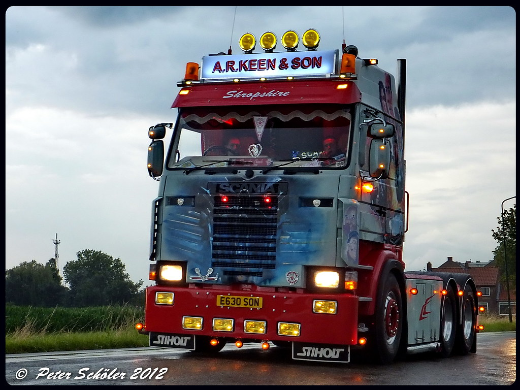 SCANIA 142 - Keen & Son - GB | PS-Truckphotos | Flickr