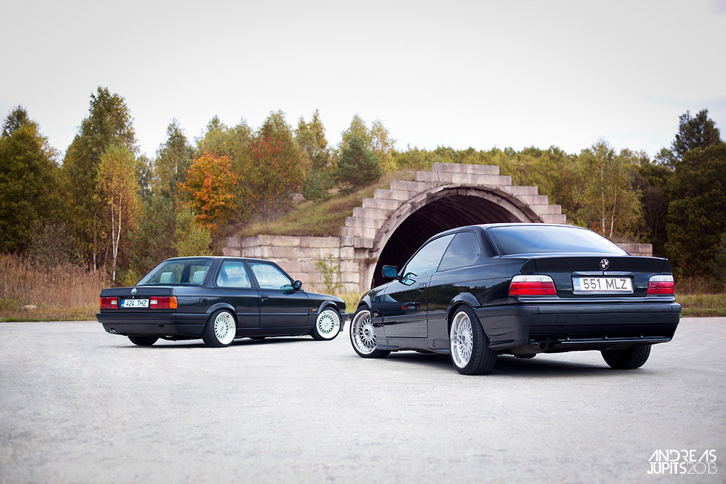Bmw E36 328i M Tech Vs Bmw E30 320i Andreas Jupits Flickr
