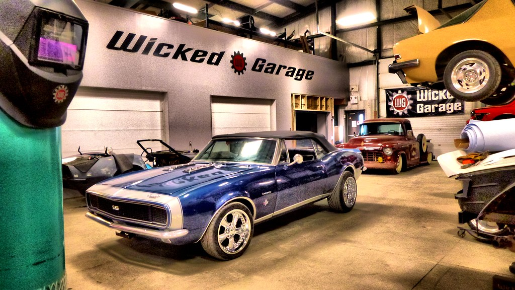 001 wicked garage flickr for Garage modification