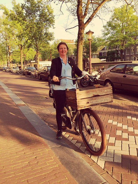 Maud de Vries, initiator Cyclehack Amsterdam