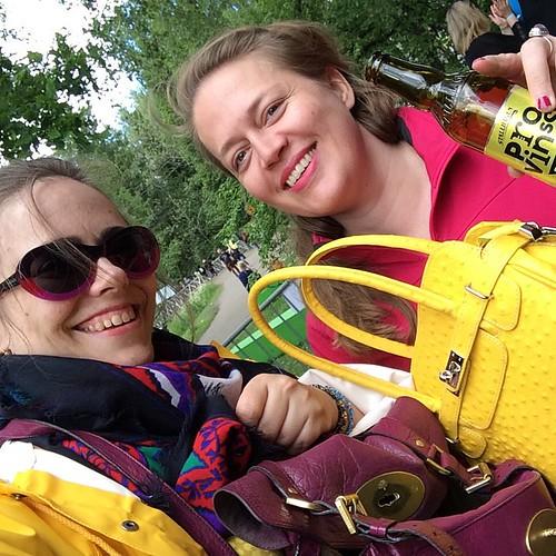 Dagens klädkod #provinssi15 #teamgoldandpurple #provinsrock #greatmindsthinkalike #östermyra