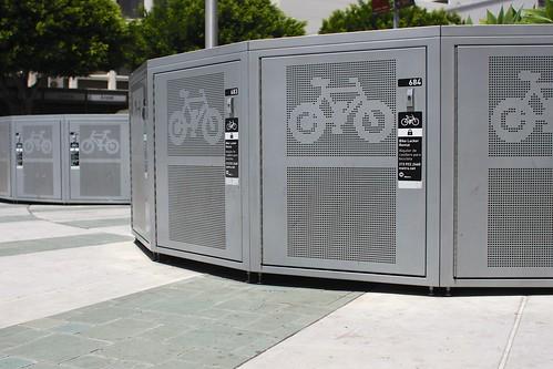 Metro Bike Locker Metro Bike Lockers   by