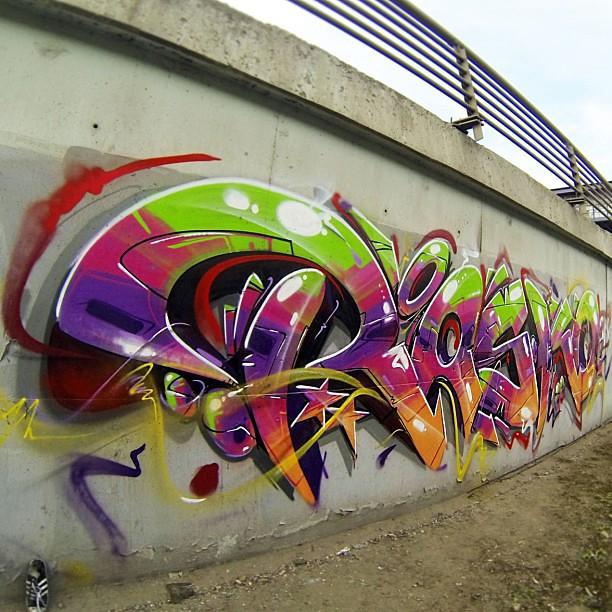 Daylight bombing #rasko #graffiti #street #art #best #graff #urban ...
