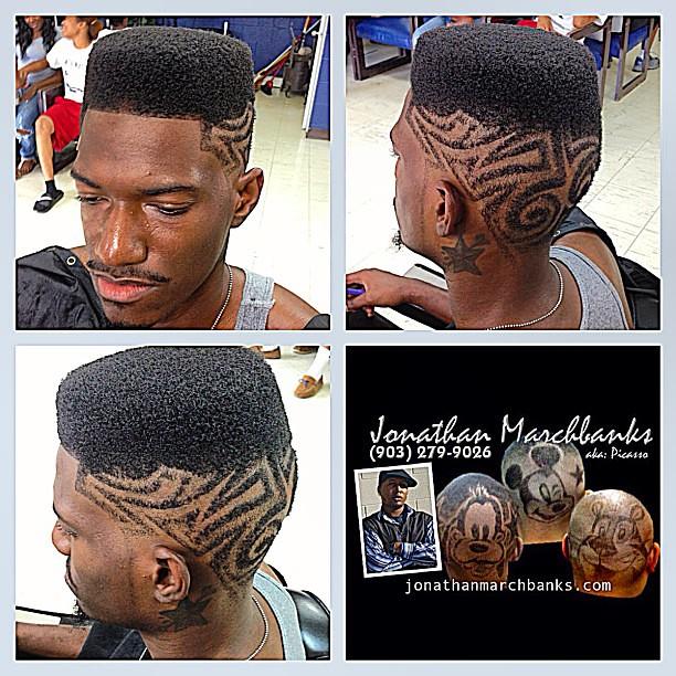 Long V Haircut Front