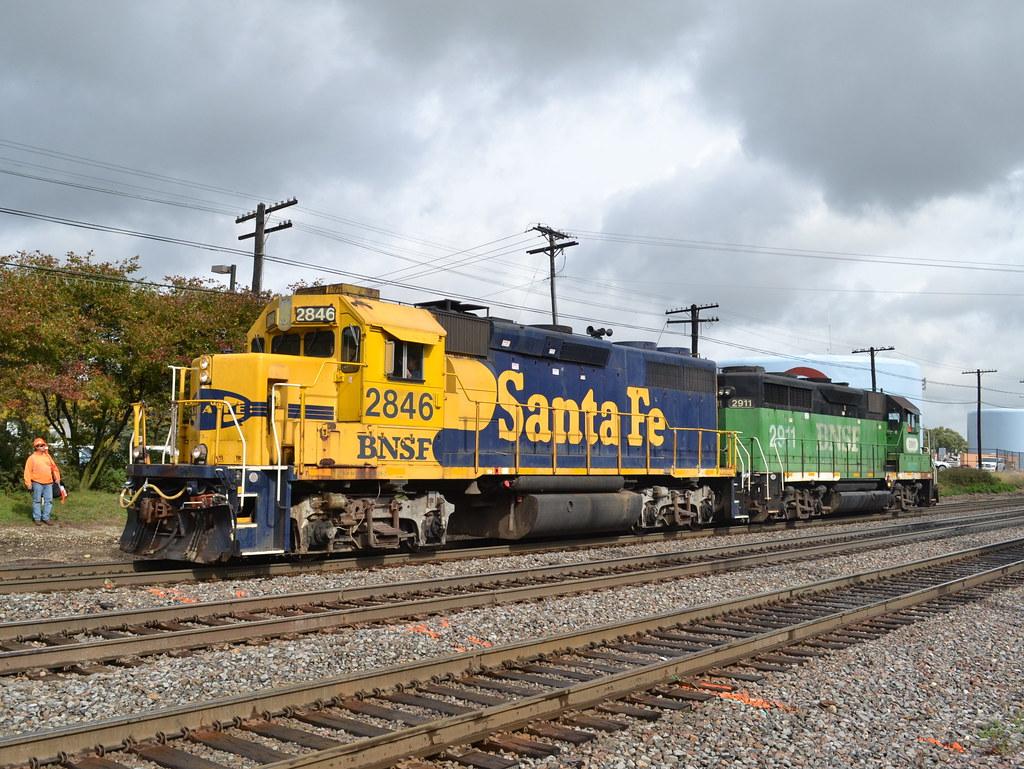 Santa Fe Veteran A Rare Bluebonnet Gp39 2 Leads 452