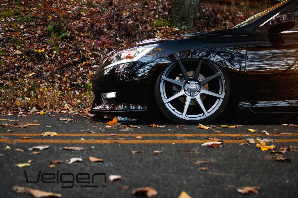 Lowered Honda Accord Sedan Honda Accord Sedan on