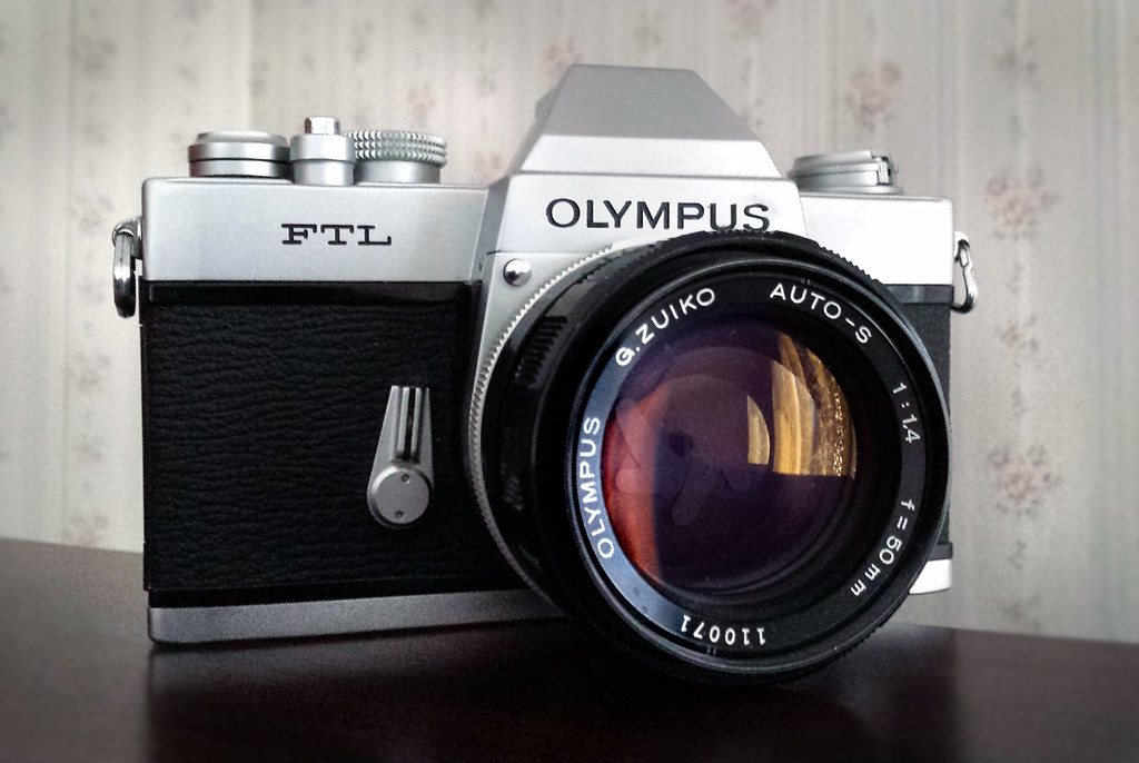 Olympus Ftl This Rare Model Of Olympus Slr Was Sold Only
