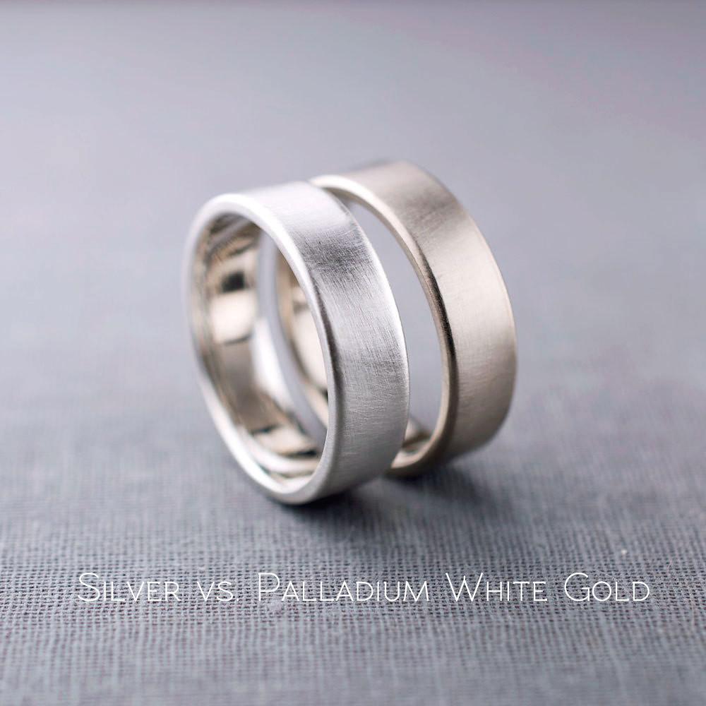 sterling silver vs white gold 100 images palladium vs