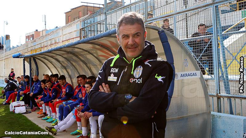 Lello Di Napoli, tecnico dell'Akragas