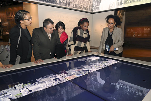 OAS Assistant Secretary General Leads OAS Visit to National Museum of African-American History and Culture