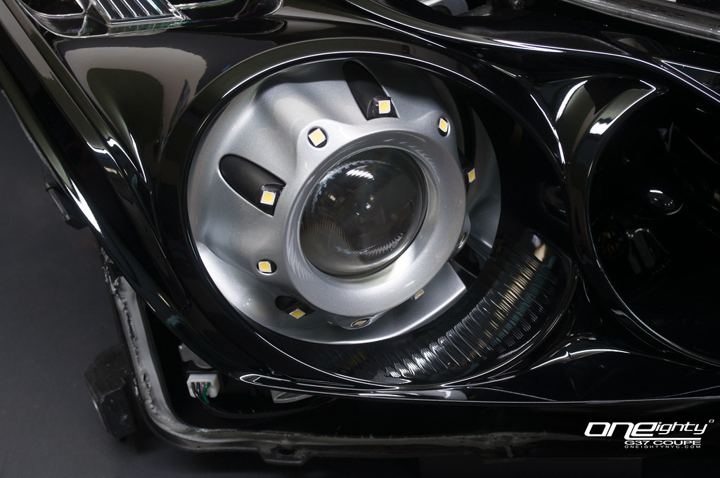 Infiniti G37 Coupe Custom Headlights This Setup For A