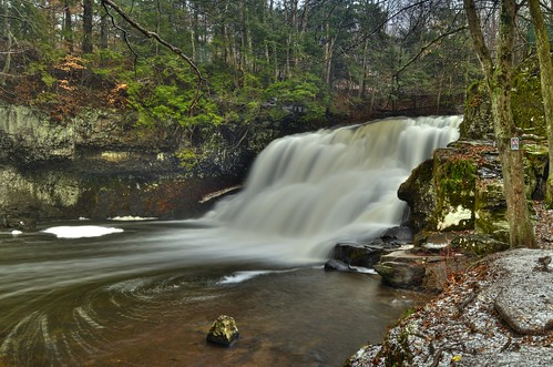Wadsworth Falls State Park Tone Mapped Middlefield Ct