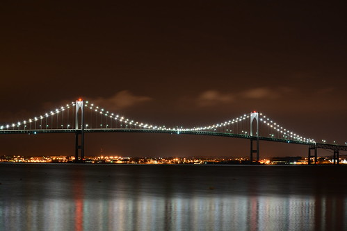 Pell Bridge Newport,RI by crosbyjohn9