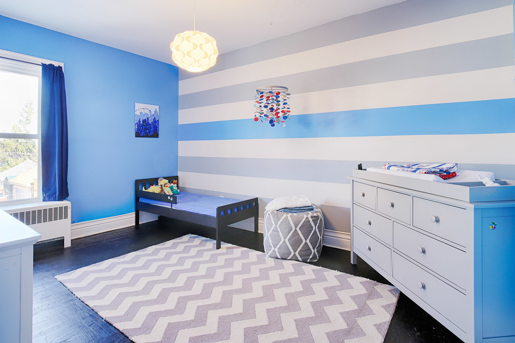 interior kid room Buffalo Real estate photo