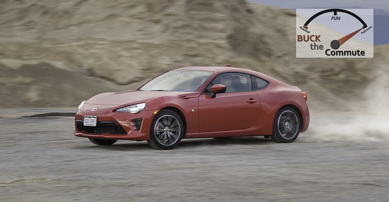 Toyota 86 Test Drive - Denver to Vegas | Buck The Commute