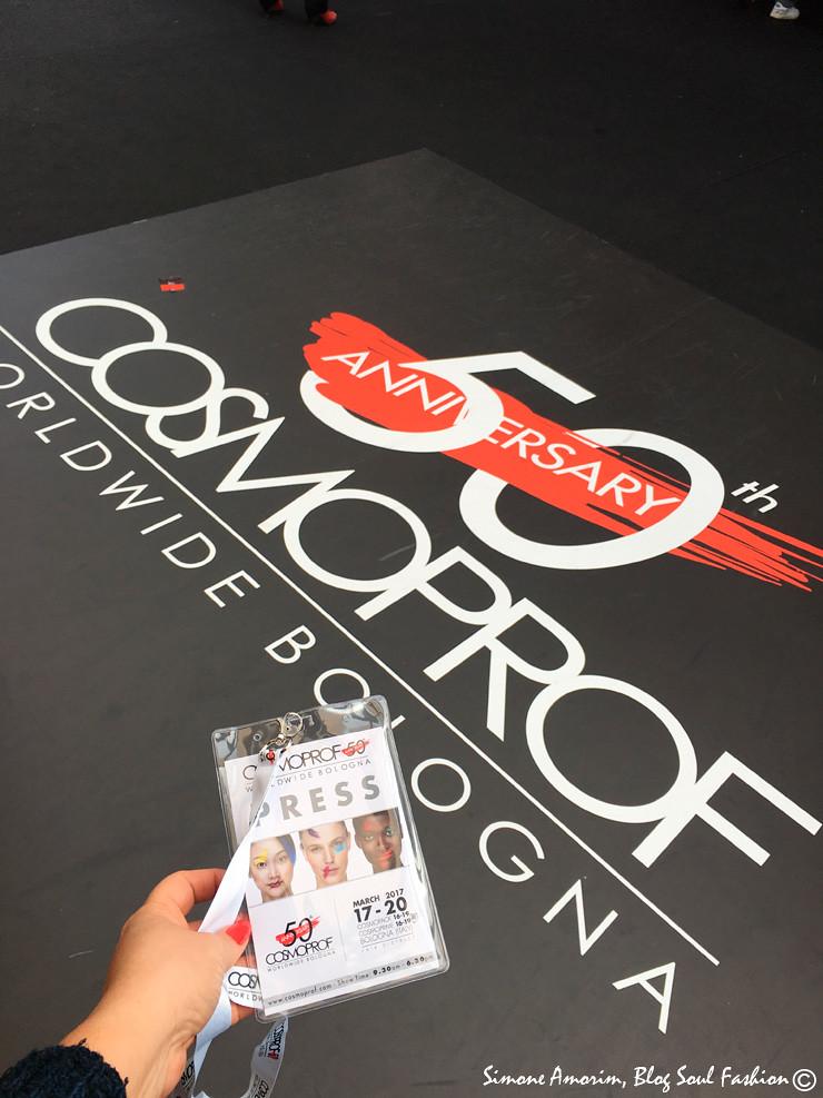 Obrigada COSMPROF Bologna pelo convite para esse maravilhoso evento. Thank you COSMOPROF Bologna for the invitation to this awesome event.