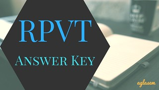 RPVT Answer Key 2018   Check Rajasthan Pre Veterinary Test Correct Answers