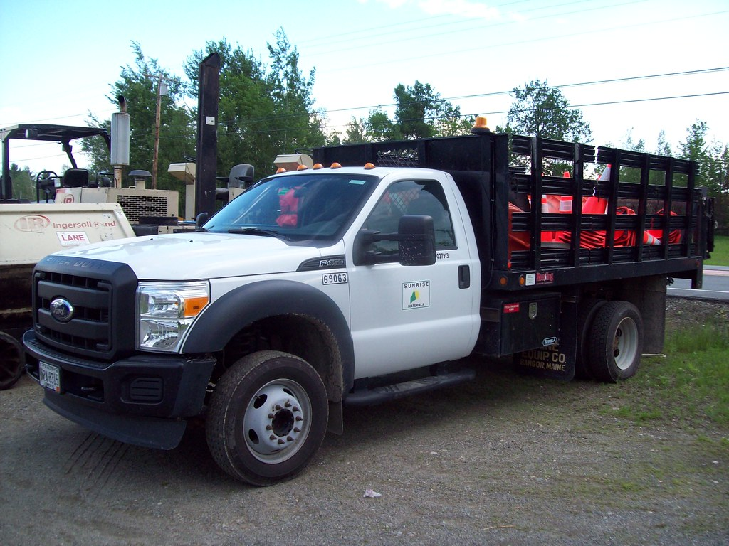 Ford F Stake Bed Truck