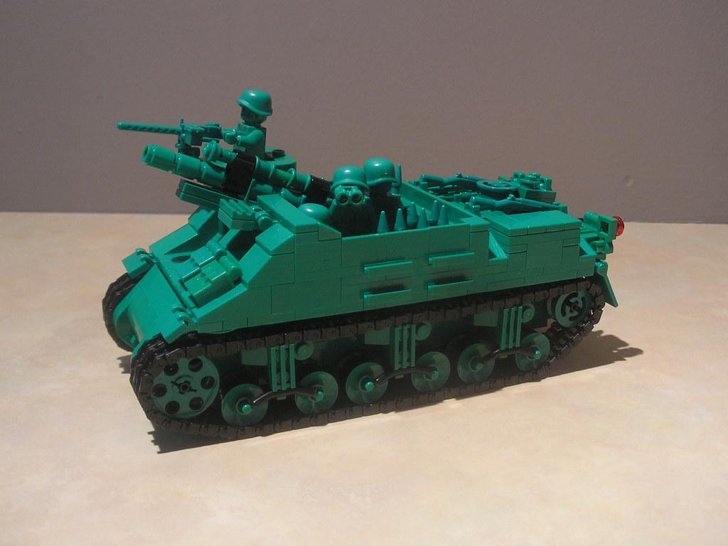 How To Build A Lego Army Car