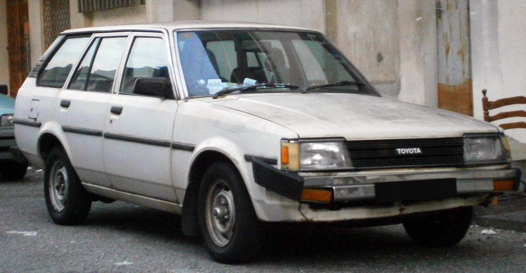 1986 Toyota Corolla Dx Ke70 5 Door Station Wagon Flickr
