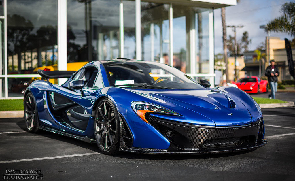 Mclaren P1 In Blue Www Davidcoynephotography Com David