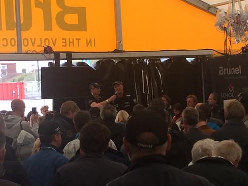 Bouwe Bekking, skipper of Team Brunel at the Volvo Ocean Race