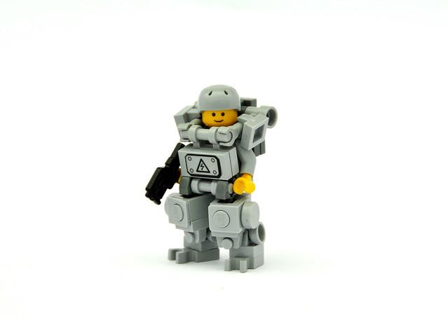 Как сделать лего человечка робота