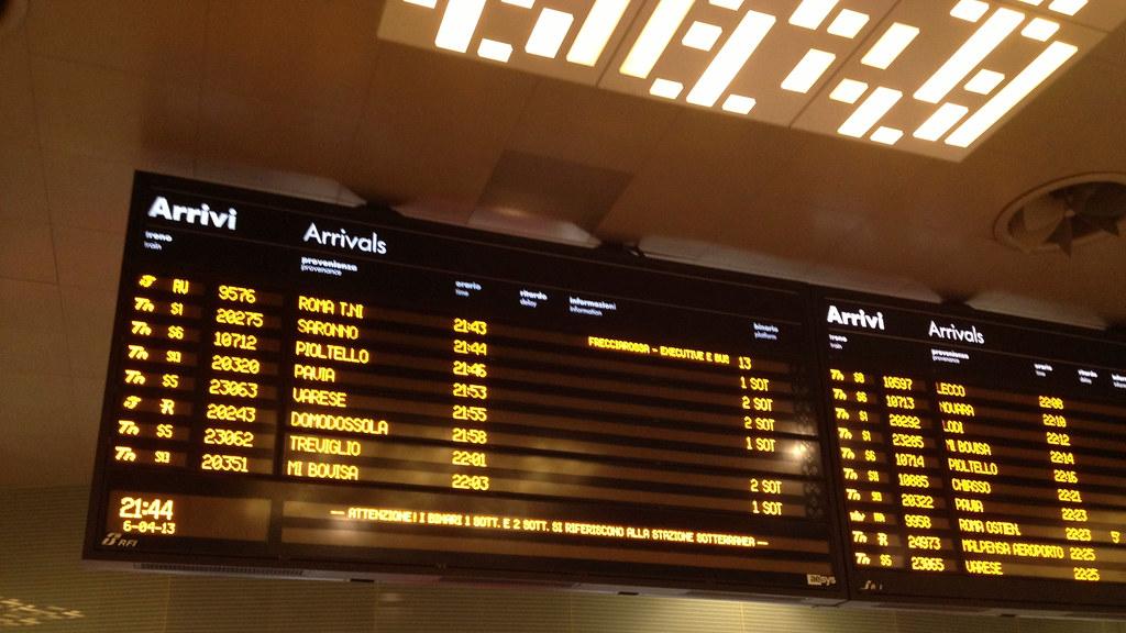 Arrivals milano porta garibaldi railway station italy - Milano porta garibaldi station ...