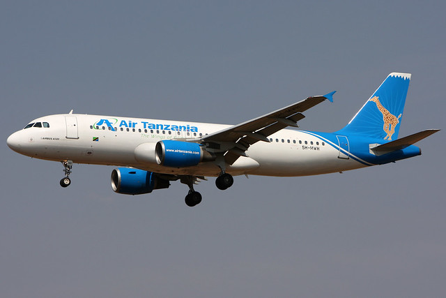 Air Tanzania | Airbus A320-200 | 5H-MWH | Johannesburg International