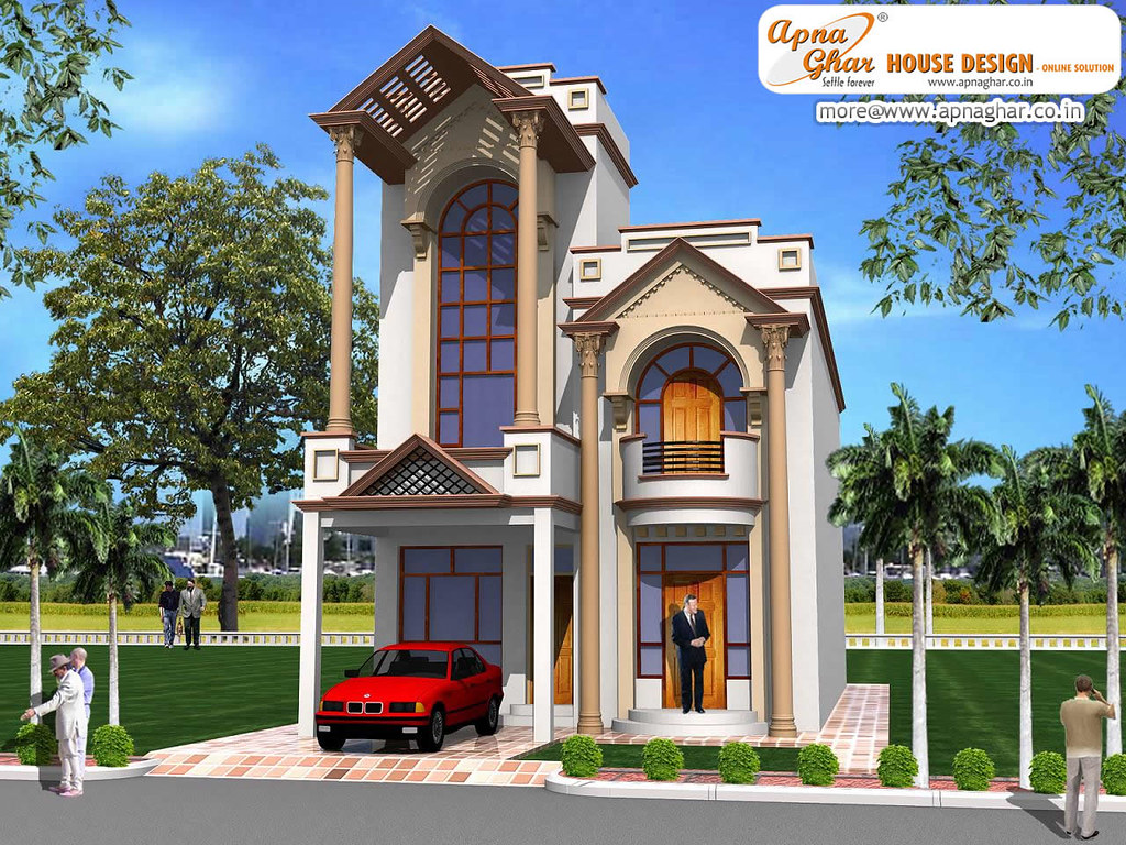 Duplex House Design Simple Duplex House Design In Flickr